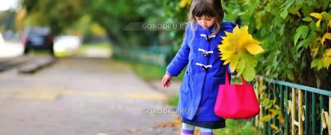 «Как одеть ребенка осенью?»