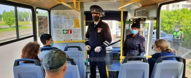 Свердловчан без масок высадят из автобусов