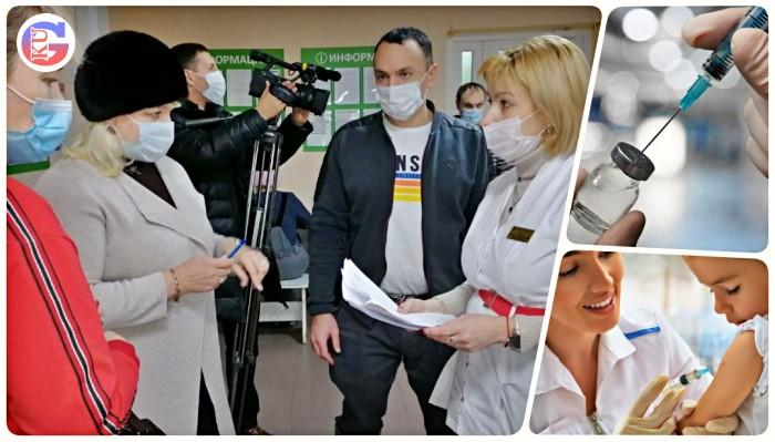"""В Каменске-Уральском проставлены все 565 доз вакцины """"Спутник V"""" от COVID-19"""