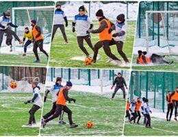 Футбольный клуб «Синара» на стадионе «Космос» победил «Металлург» из Двуреченска