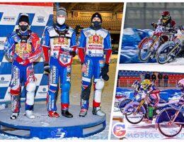 Наши гонщики - бронзовые призеры Командного Чемпионата России по мотогонкам на льду в Суперлиге